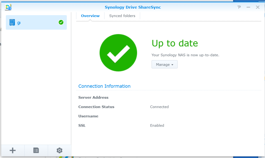 How to sync folders between 2 Synology NAS
